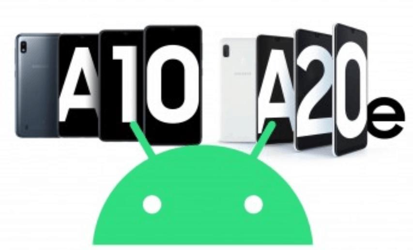 هاتفي سامسونج جلاكسي A20e و جلاكسي A10 سيصلهم تحديث أندرويد 10 الجديد