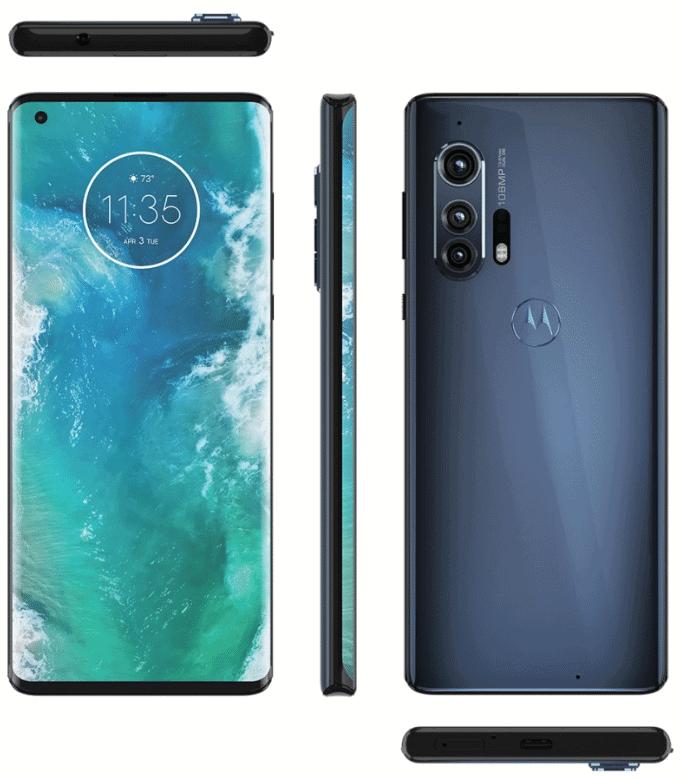 شركة موتورولا ستُعلن عن هاتفها +Motorola Edge الجديد بشاشة الشلال Waterfall في يوم 22 إبريل القادم