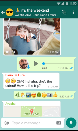 Easy messaging