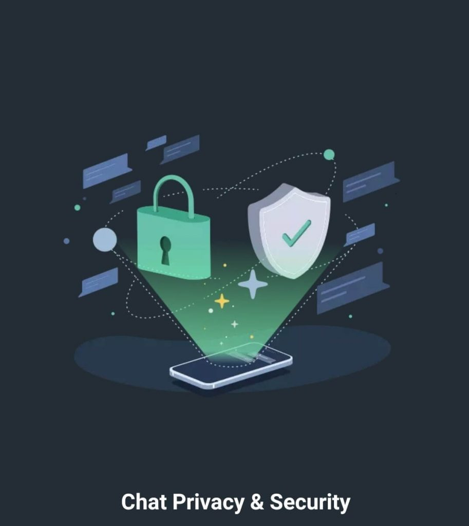 chat privacy & security